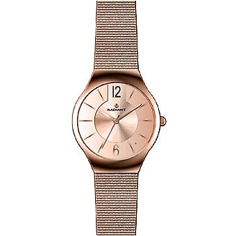 Radiant nouvelle northlady Quartz Analog Woman Watch avec RA404206 Gold Plated Stainless Steel Bracelet