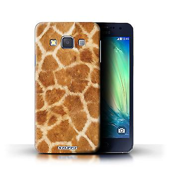 STUFF4 Case/Cover for Samsung Galaxy A3/A300/Giraffe/Animal Fur Pattern