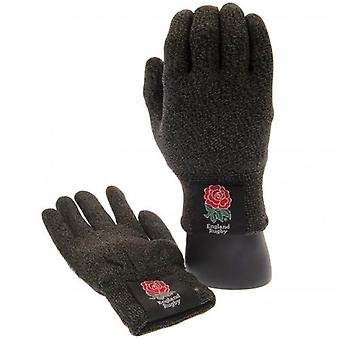 England R.F.U. Luxury Touchscreen Gloves Youths