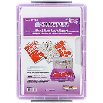 Zutter Cling & Clear Stamp Storage 7632