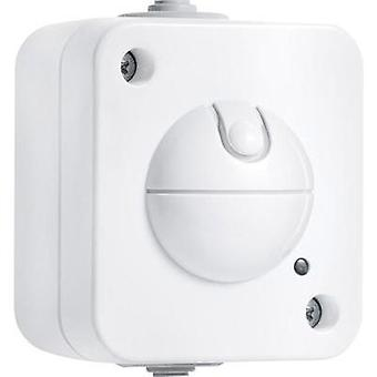 Wall, Surface-mount HF motion detector Steinel 751210 360 ° Relay White IP54