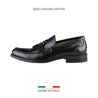 Made in Italia Mokassins schwarz Herren