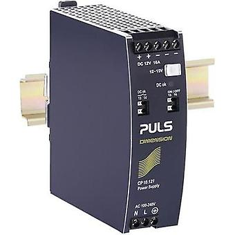 Rail mounted PSU (DIN) PULS CP10.121 12 Vdc 16 A 192 W 1 x