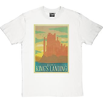 Kings Landing Travel Poster Herren T-Shirt