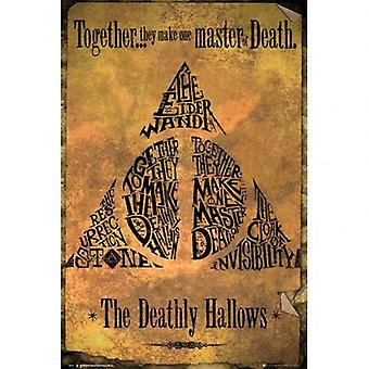 Cartel de Harry Potter Deathly Hallows 226