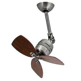 AireRyder design ceiling fan / wall fan Toledo pewter antique