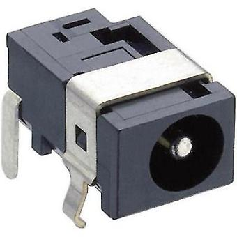 Low power connector Socket, horizontal mount 5.15 mm 1.65 mm
