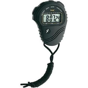 Digital stopwatch TFA Stoppuhr 38.2029 Black