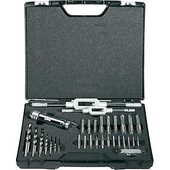 Hand tap set 32-piece metric Righ