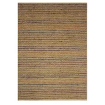 Brown Organic Stripes Jute Rug Kuala