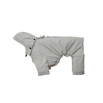Buster Aqua Rain Coat Silver Medium/large