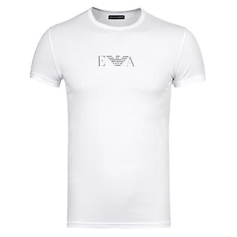 Emporio Armani White Underwear Short Sleeve T-Shirt