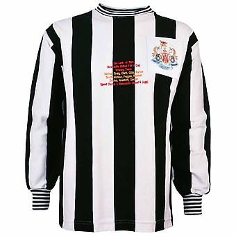 Newcastle United Fiere Coppa 40th Anniversary Retro Football Shirt
