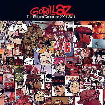 Gorillaz - Singles Collection [CD] USA importerer