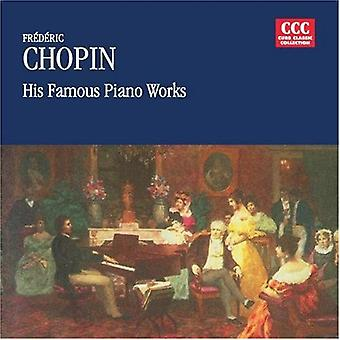 F. Chopin - Frederic Chopin: Hans berömda Piano verk [CD] USA import