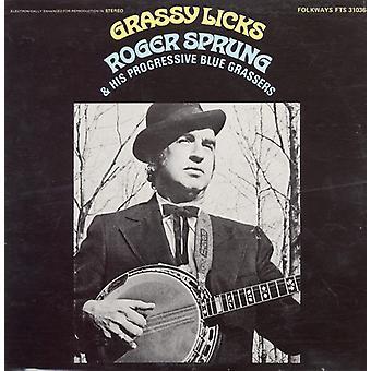 Roger Sprung - Grassy Licks [CD] USA import