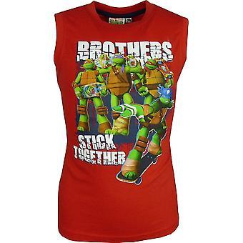 Boys Nickelodeon Ninja Turtles sleeveless T-shirt - Vest Top