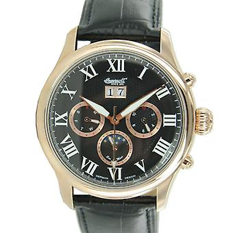 Ingersoll men's watch wristwatch automatic Lenope leather IN1411RBK