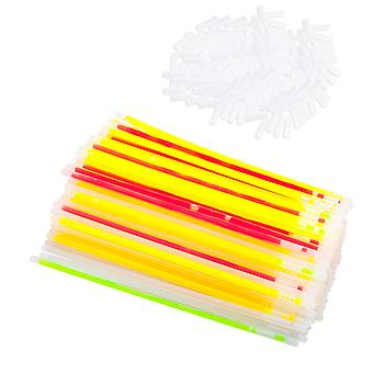TRIXES 100 Party Glow Sticks and 100 Connectors