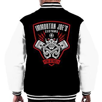Immortan Joes Customs Mad Max Fury Road Men's Varsity Jacket