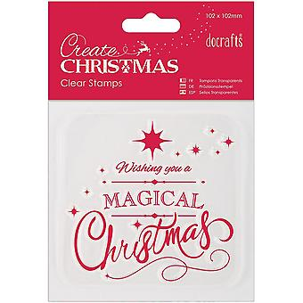 Papermania Create Christmas Mini Clear Stamps 4