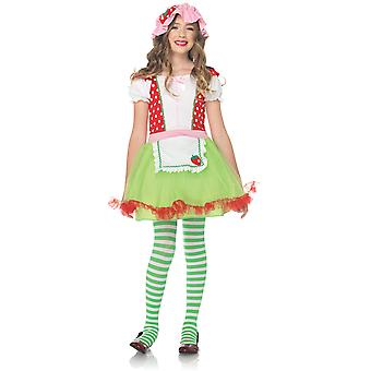 Children's costumes Girls Strawberry Sweety