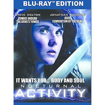 Natlige aktivitet [Blu-ray] USA importerer
