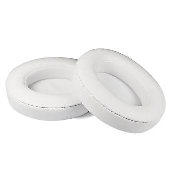 [REYTID] Apple Beats By Dr. Dre Studio 2.0 & Studio 2.0 Wireless White Replacement Ear Pads Cushion Kit - Studio 2 - 1 Pair Earpads