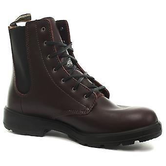 Blundstone 1365 Burgundy Womens Lace Up Ankle Boots
