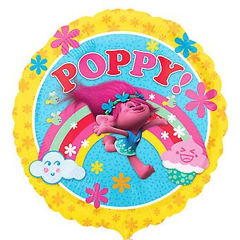 Anagram Trolls Official Poppy Design Foil Balloon