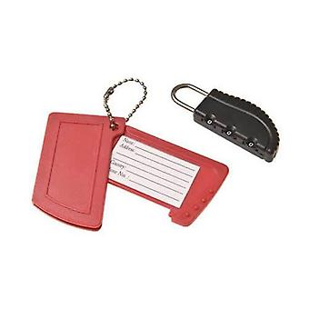 Caraselle Combination Lock and Luggage Tag