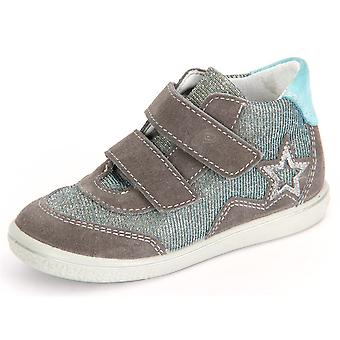 Ricosta Cleo Graphit Himmel Velour Wonderful 2524200452   infants shoes