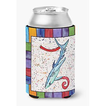 Buchstabe Z mit Shark-Dose oder Flasche Getränk Isolator Hugger 8449