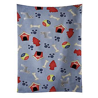 Carolines Treasures  BB4116KTWL Dog House Collection Schnauzer Kitchen Towel