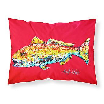 Fisch - Red Fish Alphonzo feuchtigkeitsableitende Stoff standard Kissenbezug