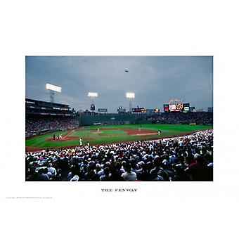 The Fenway Poster Print by Ira Rosen (19 x 13)