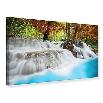 Leinwand drucken Erawan Wasserfall