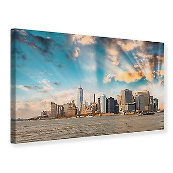 Canvas Print New York Skyline From The Other Side