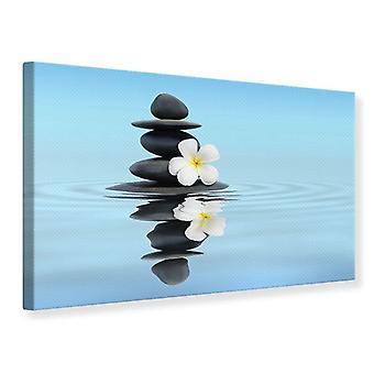 Canvas Print Zen Stones