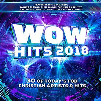 Forskellige kunstner - Wow Hits 2018 [CD] USA importerer