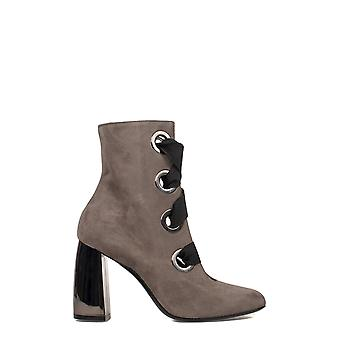 Marc Ellis ladies MA2056 grey Suede Ankle Boots