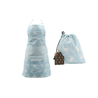 CGB Giftware Harbour Blue Crab Apron and Bag