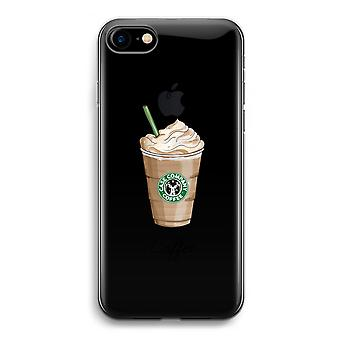 iPhone 7 Transparent Case - But first coffee