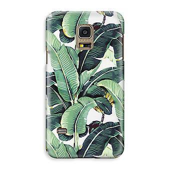 Samsung Galaxy S5 Mini Full Print Case - Banana leaves