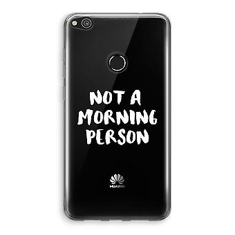 Huawei Ascend P8 Lite (2017) Transparant Case - Morning person