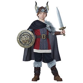 Venturous Viking Boy Deluxe Medieval Barbarian Warrior Book Week Boys Costume