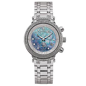 Joe Rodeo diamond ladies watch - MASTER silver 0.9 ctw