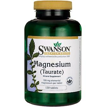 Swanson Magnesium Taurate 120 Tablets (Sport , Athlete's health , Minerals)