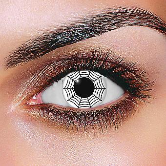 White Web Contact Lenses (Pair)