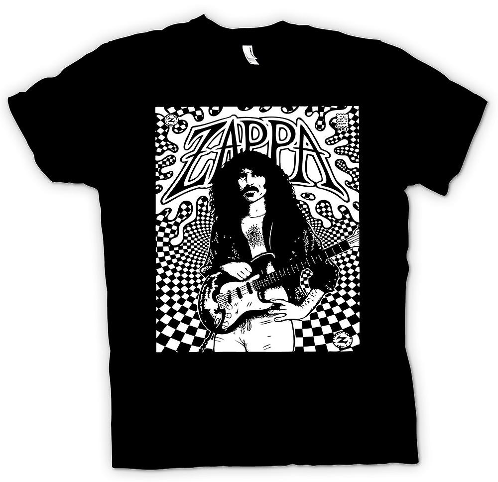 T-shirt - Frank Zappa - Portrait Sketch